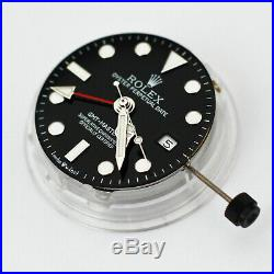100% new seagull 2836 4 hands gmt function 27.7mm watch parts