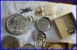 18s Rockford & 16s Rockford + Large Group of Rockford Staffs, Hands & Misc. Parts
