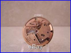 1951 Omega Automatic 342 Bumper 17 Jewel Watch Movement, Dial & Hands. Running