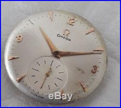 1952 Omega Movement Cal. 266 Hand Winding Working Need Service