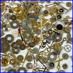 1 Pound LB Steampunk Watch Parts Wheel Gear Hand Watchmakers Lot Altered Art Cog