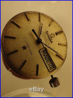 2980 High Quality Omega Caliber 751 Constellation 24 Jewels 1967 Dial And Hands
