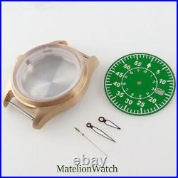 39mm Cusn8 Watch Case Spare Parts Fit NH35 NH35A Sapphire Glass 200M Waterproof