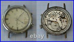 4-lot ALARM Hand Wind Wristwatch for Parts Repair 1960s Gladstone Rado Poljot