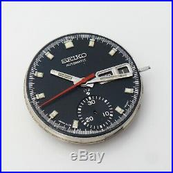 6139 Movement Seiko POGUE Blue Dial Hands Watchmakers Estate Parts Repairs