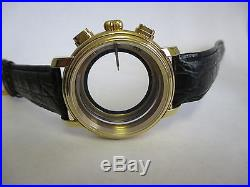 7750 Chrono Case & Dial & Hands, Scratchproof Top Crystal, Window Back NEW