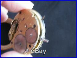 A. Lange Dresden Hunter Pocket Watch Movement #8369 with Dial & Hands