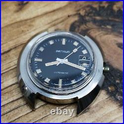 A Pair of Benrus Diver Watch Factory Dealer Cases, Dial, Hands Parts (K45)
