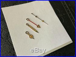 A SET OF AUTHENTIC TRITIUM ROLEX GMT MASTER II HANDS For ROLEX 16750