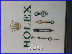 A set of Rolex explorer II hands