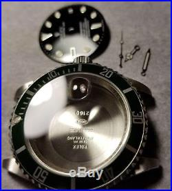 Aftermarket Rolex 16610 Case Dial And Hands Parts For 3135 Movement