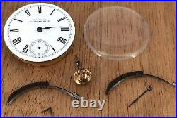 American Waltham Watch Mass Doesn'T Works For Parts Hand Manual 29,5 MM A. W. W