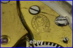 Antique Billodes Zenith Pocket Watch Silver Case Spare Parts&Repair Hand Winding