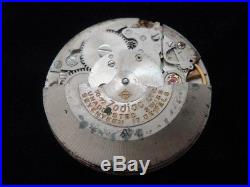 Antique Vintage Old Zodiac Sea Wolf 70 72 Hack Movement with Dial, Hands