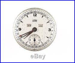 Arsa Extra Ar205 Triple Date Calendar Watch Dial Hands Movement Spares N15