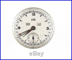 Arsa Extra Ar205 Triple Date Calendar Watch Dial Hands Movement Spares N15