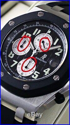 Audemars Piguet Royal Oak Offshore Ref 25721ST/25940ST 3 CHR Counter Hands Black