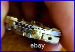 Authentic Longines Movement 6312 Dial Hands Crown Not Working For Parts