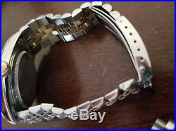 Authentic ROLEX DATEJUST PARTS- Hands, Crystal, Jubilee Bracelet, Dial, & Crown