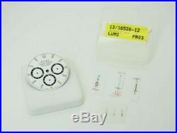Authentic Rolex Watch Daytona White Dial & Hands Set Parts 16520 r389772286