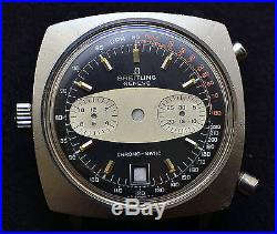 Breitling Chrono-matic 2111 Automatic Watch Case With Dial, Hands, Crown