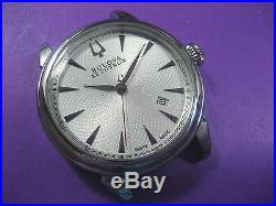Bulova Accutron 63b165 Case/dial/hands For Sellita Sw200 Automatic Men's Watch