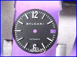 Bvlgari Diagono Swiss Lcv29s Parts Dial & Hands Ladies Watch S/s Black Dial