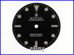 Black dial Rolex Submariner ref. 14060 new + hands set
