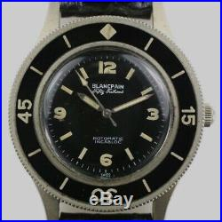 Blancpain Lip Fifty Fathoms Complete Hands Set NEW Genuine NOS