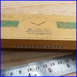 Boxed Lot of Vintage Gilt Alpha Lume Watch Hands Parts for Watchmakers (AL6)