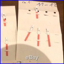 Breitling Buren 11 12 Hour & Minute Hands Set Tritium Spare Parts NOS