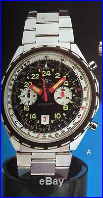Breitling Chrono-Matic Cosmonaute Full hands handset REF. 1809 Cal. 14