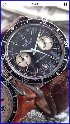 Breitling Chrono-Matic Navitimer 2130 Fullset hands Buren Cal 11 12 15 7740