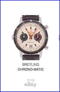 Breitling Chrono-Matic hand set Navitimer Pult Buren Cal. 11 12 15 Valjoux 7740