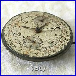 Breitling Chronograph Vintage Movement, Dial And Hands 100% Genuine Venus 170