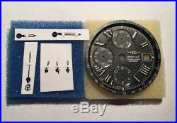 Breitling Crosswind Black Dial And Hands Set Ref. 13055 / B240 For ETA 7750 New