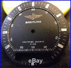Breitling PLUTON Navitimer 3100 DIAL AND HANDS ORIGINAL VINTAGE NO REPRINTED