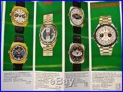 Breitling chrono matic calibre cal 11 12 (Buren) rare watch hands NOS