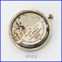 Bulova 10BPAC Automatic Watch 23 Jewels Dial Hands Parts Repairs Spares Running