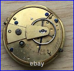 Cal. 14856 Hand Manuale 38 MM No Funziona For Parts Tasca Pocket Watch Vintage