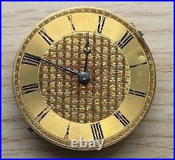 Cal. 14856 hand manual 38 mm NO Funciona for parts bolsillo pocket watch vintage