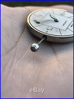 Cartier Pasha Caliber 20 ETA 2824-2 With Date Disk Dial Hands Crown With Stem