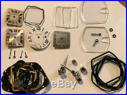 Cartier Roman Numerals. Genuine Cartier dial, hands, crystals, crowns, and more