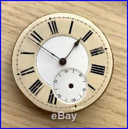 Carved Pocket watch Hand Manual 42,5 mm NO Funciona for parts bolsillo vintage