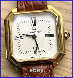Certina with CEO5O Hand Manual 27mm NO Funciona For Parts Watch Swiss