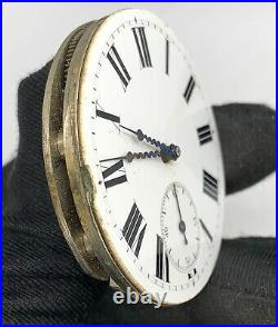 Chopard Fleurier Hand Manual Vintage 45 mm Doesn'T Works For Parts Pocket Watch