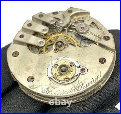 Chopard Fleurier Hand Manuell Vintage 45 MM Nicht Betrieb Für Parts Pocket Uhren