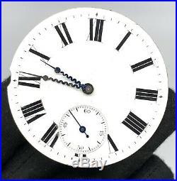 Chopard Fleurier hand manual vintage 45 mm NO Funciona for parts pocket watch