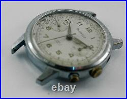 Chronograph Movement Landeron 149 complite with dial hands and case PARTS Only
