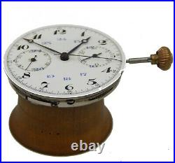 Chronograph Pocket Watch Dial & Hands Movement for Parts DHL Speed
